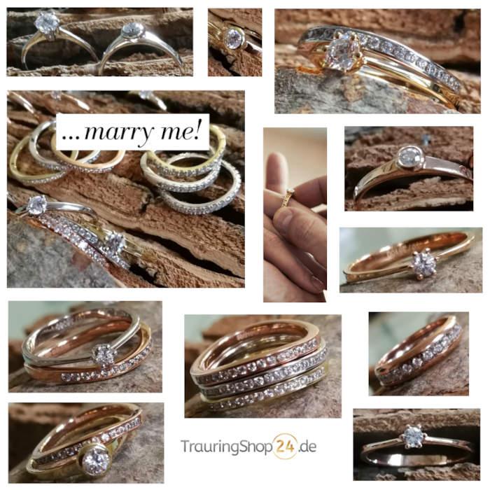 Verlobungsringe - marry me