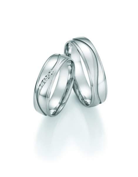 Trauringe Platin Honeymoon Solid Brillant 66-47070_Pt