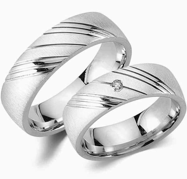 Verlobungsringe Silber Zirkonia Cilor G17