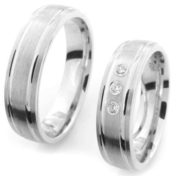 Verlobungsringe Silber Zirkonia Cilor CRG32