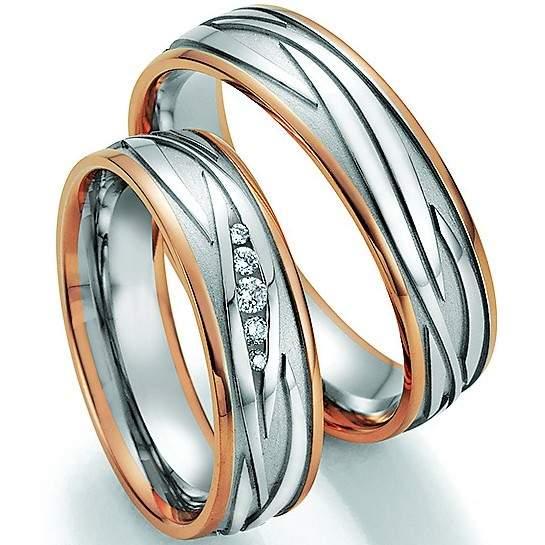Trauringe Gold Honeymoon Solid Brillant 66-34050