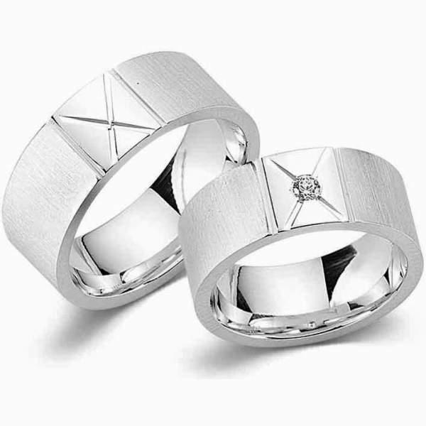 Verlobungsringe Silber Zirkonia Cilor G11
