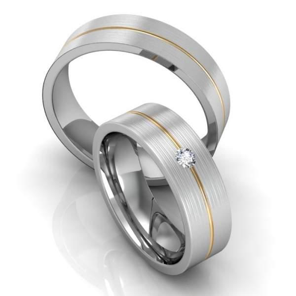 Verlobungsringe Silber ID667