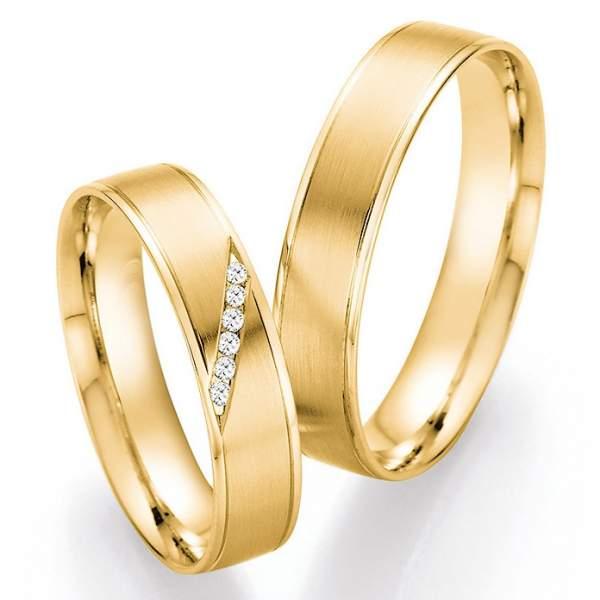 Trauringe Gold Honeymoon Pure Brillant 66-41130_GG