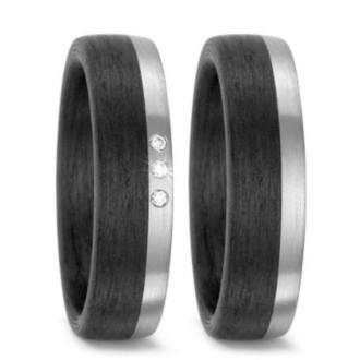 Trauringe-Schwarz-Silber-Carbon-Palladium