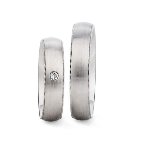 Verlobungsringe Silber Brillant Vintage 928531