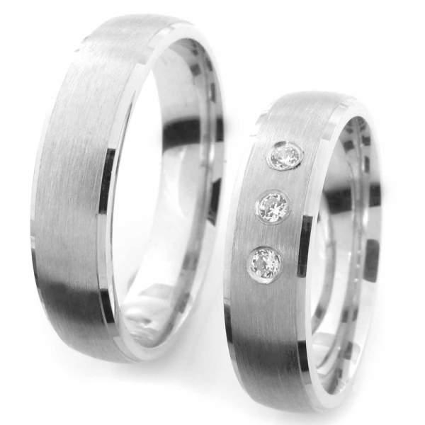 Verlobungsringe Silber Zirkonia Cilor CRG33