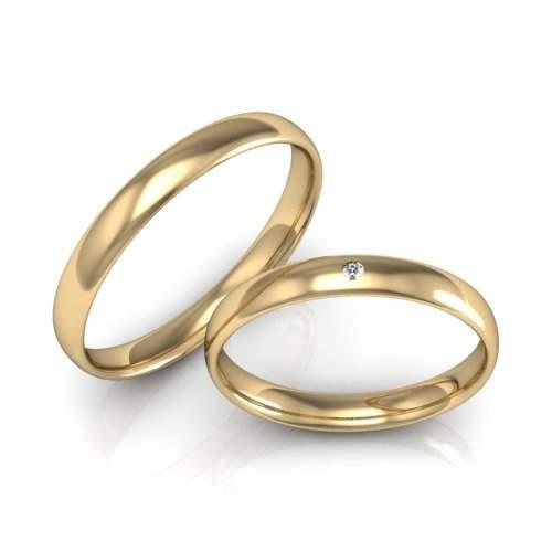 Verlobungsringe Gold Brillant ID696