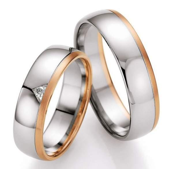 Trauringe Gold Honeymoon Selection Brillant 66-07170