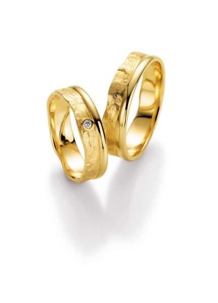 Trauringe Gold Honeymoon Vulcano Brillant 66-50130