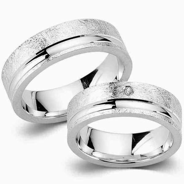 Verlobungsringe Silber Zirkonia Cilor G57