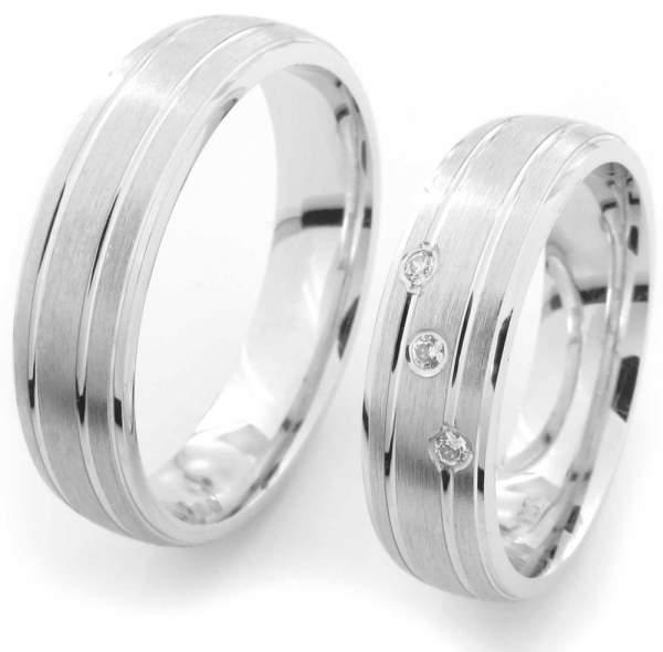 Verlobungsringe Silber Zirkonia Cilor CRG05