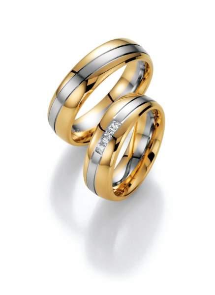 Trauringe Gold Honeymoon Premium Brillant 02-40290