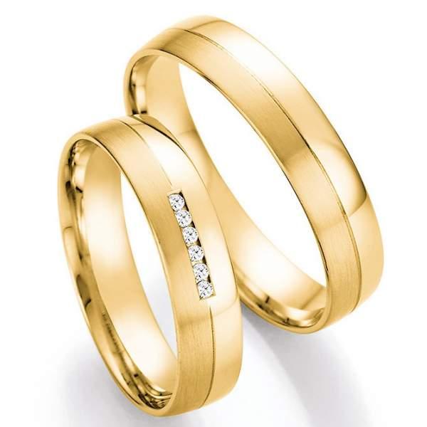 Trauringe Gold Honeymoon Pure Brillant 66-41170_GG