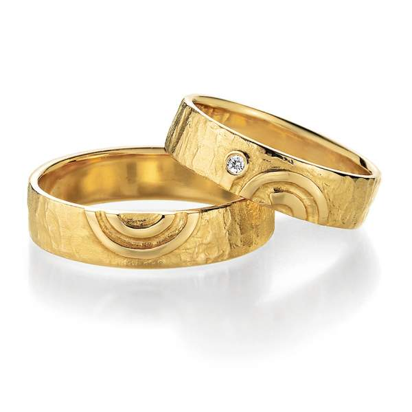 Trauringe Gold Signs of Love Brillant 66/51110