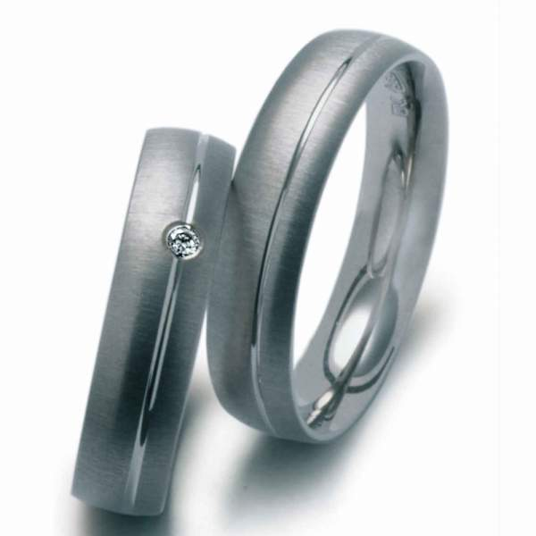 Verlobungsringe Silber Brillant 912881