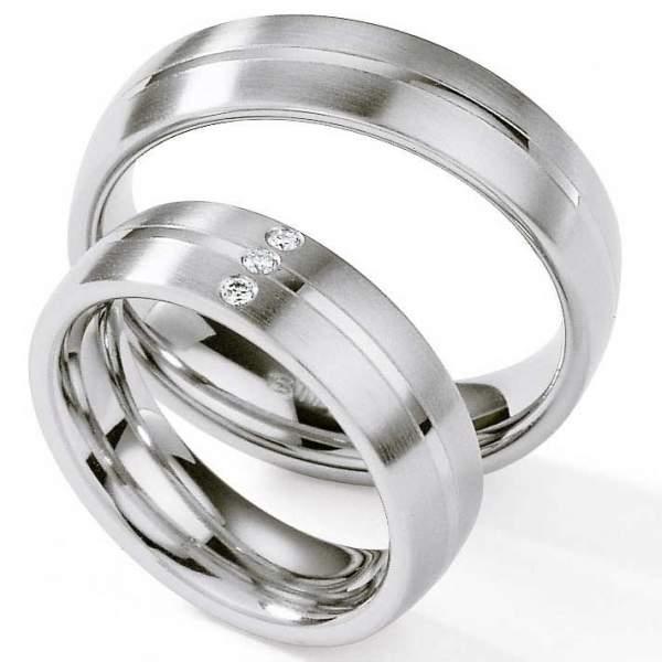 Verlobungsringe Steel Brillant 88/01250