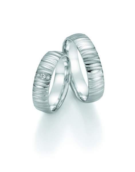 Trauringe Palladium Honeymoon Solid Brillant 66-48090_PD