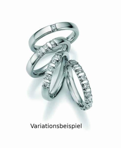 Memoire Ring Platin Brillant 05-20070