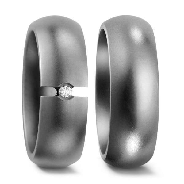 Verlobungsringe Brillant Titan Factory 50866