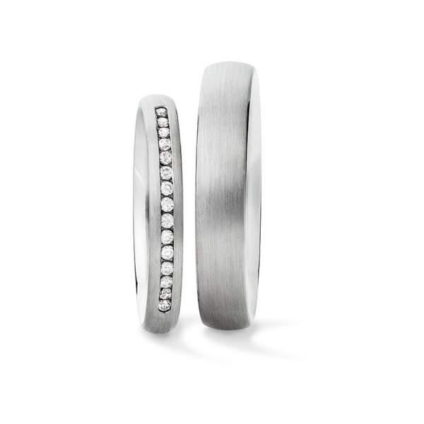 Verlobungsringe Silber Brillant Vintage 926821