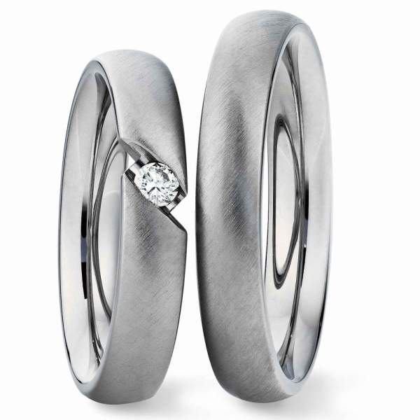 Verlobungsringe Silber Brillant 924221