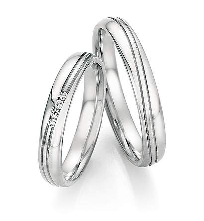 Verlobungsringe Steel Basics Brillant 88-22110