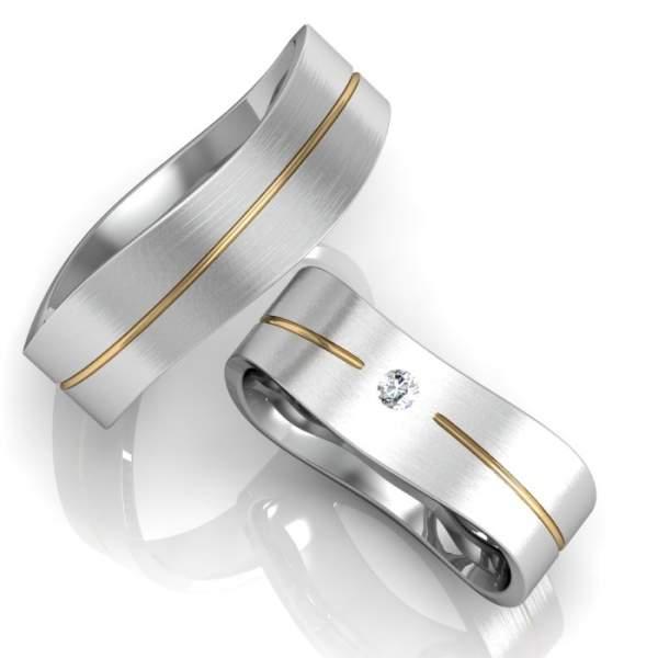 Verlobungsringe Silber ID665