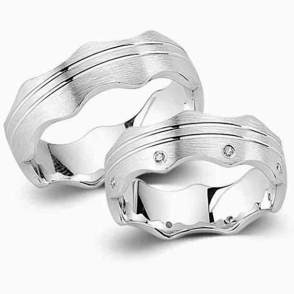 Verlobungsringe Silber Zirkonia Cilor G133