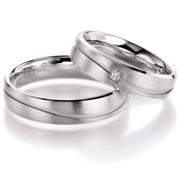 Verlobungsringe Silver Inspiration Brillant 55/10150