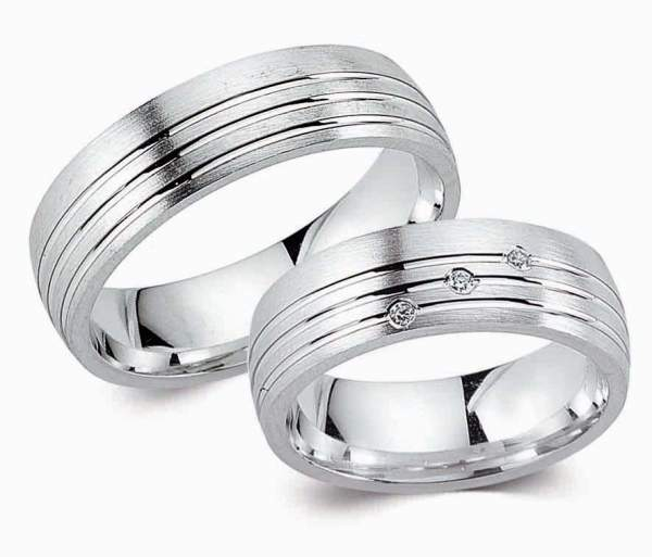 Verlobungsringe Silber Zirkonia Cilor G85