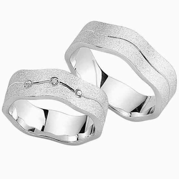 Verlobungsringe Silber Zirkonia Cilor G145