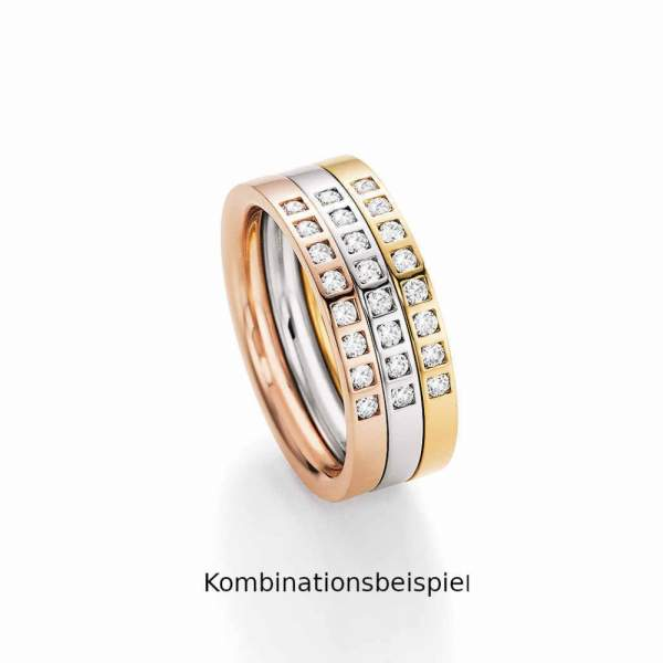 Beisteckringe Gold Marry Me Brillant 50-50020_RWG