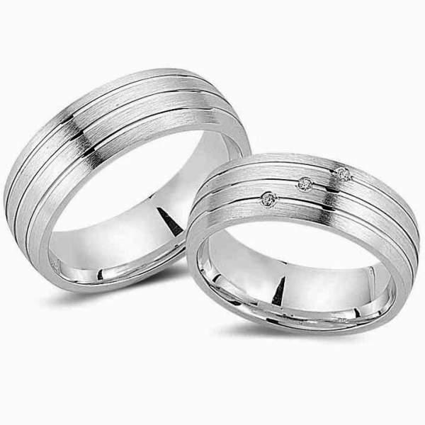 Verlobungsringe Silber Zirkonia Cilor G83