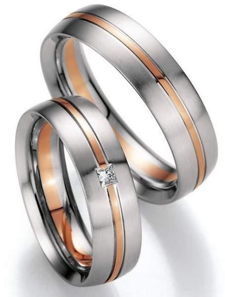 Trauringe Gold Honeymoon Premium Brillant 02-40670