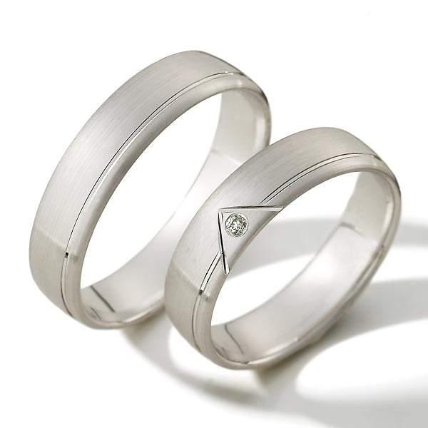 Verlobungsringe Silber Brillant Weidner 62184