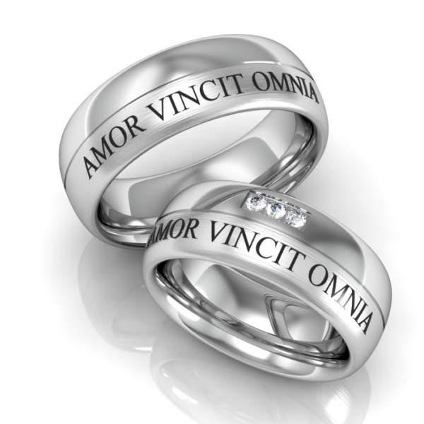 Verlobungsringe Silber Brillanten ID162