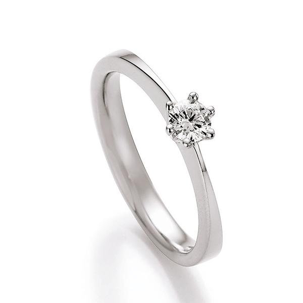 Antragsring weissgold steinbesetzt mit Diamant