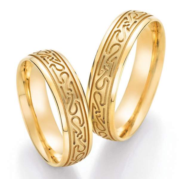 Trauringe Gold Honeymoon Solid 66-39040_GG