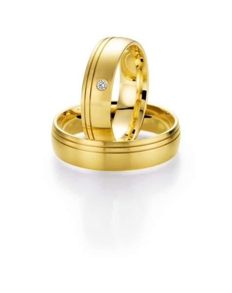 Trauringe Gold Honeymoon Selection Brillant 66-05080