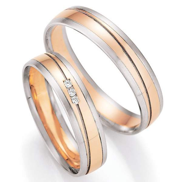 Trauringe Gold Honeymoon Pure Brillant 66-43170