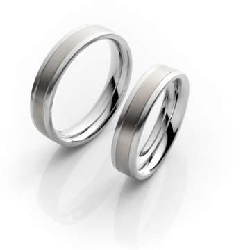 Verlobungsringe Steel Titan 68/06070