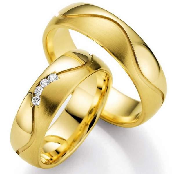 Trauringe Gold Honeymoon Selection Brillant 66-05250