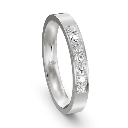 Günstiger Memoire-Ring aus Silber