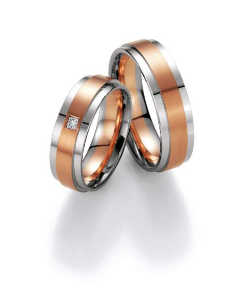 Trauringe Gold Honeymoon Premium Brillant 02-40070