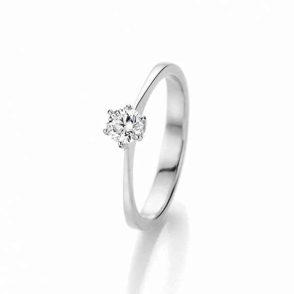 Antragsring Weißgold Marry Me Brillant 70-36250