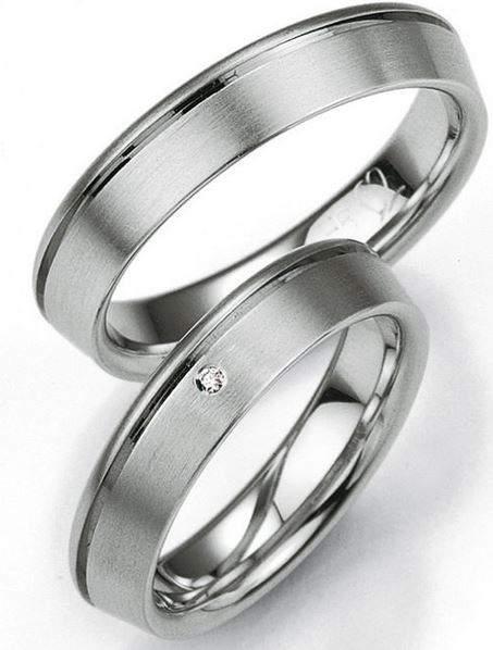 Verlobungsringe Silber Brillant Breuning 48/08005