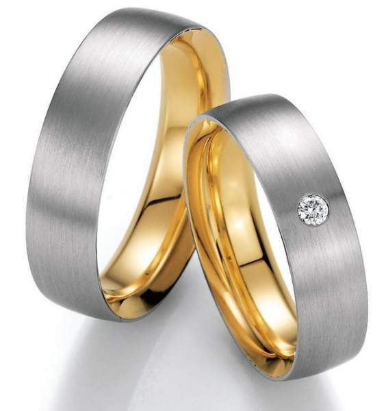 Trauringe Gold Honeymoon Premium Brillant 02-40530
