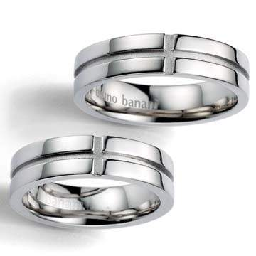 Partnerringe Bruno Banani Silber 44/86000