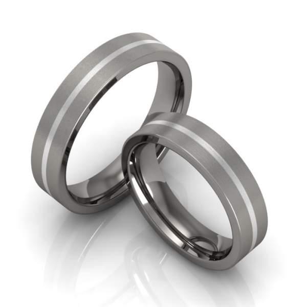 Verlobungsringe Titan Silber ID571
